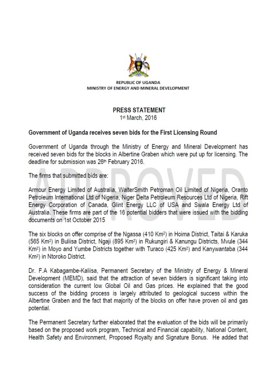Oil Press Statement 01.03. P1