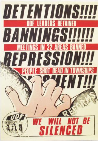 UDF Historical Poster