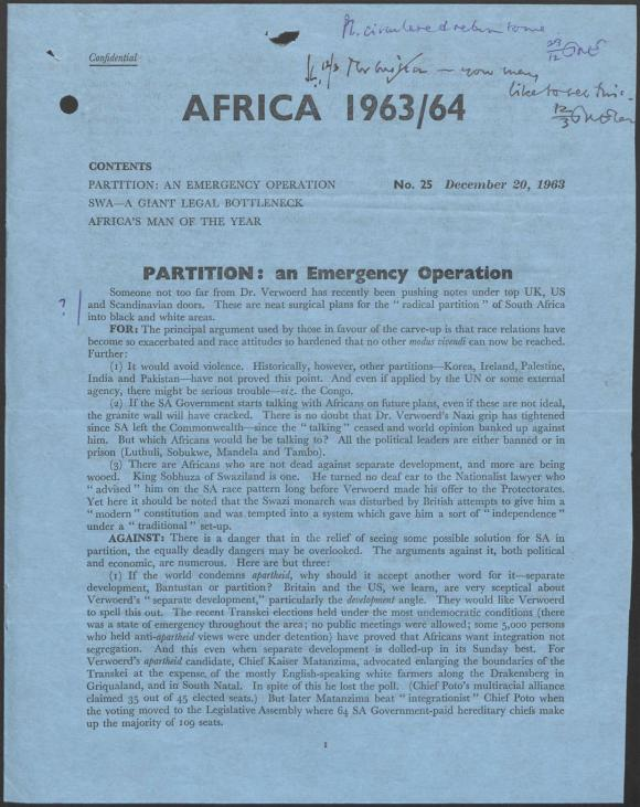 Africa 1963-64