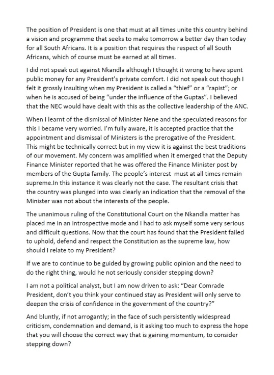 Ahmed M Kathrada Letter P2