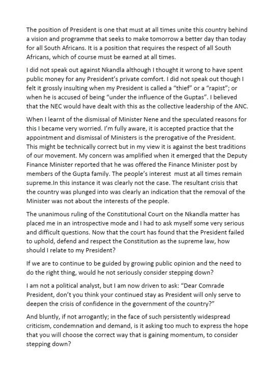 Ahmed M Kathrada Letter P2