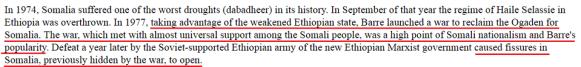 Barre Somalia