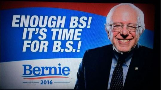 Bernie BS Slogan