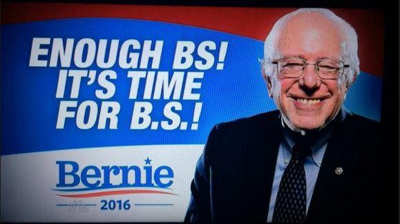 Bernie BS Slogan