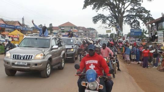 Besigye Kasangati 05.04.2016