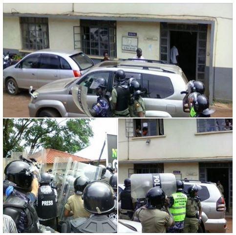 Besigye Kiira Road P.S. 05.04.2016
