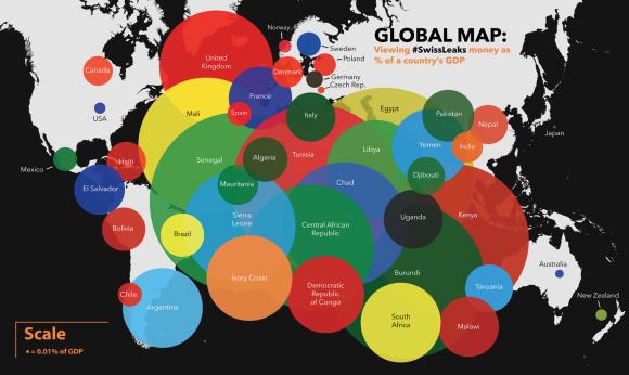 globalmap Swiss Leaks