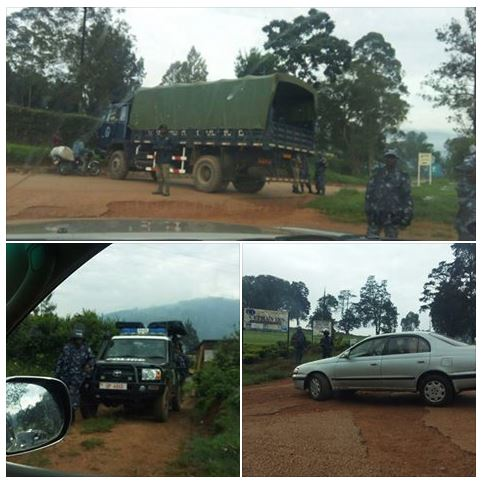 Kabale Blocking Hotel 19.04.2016