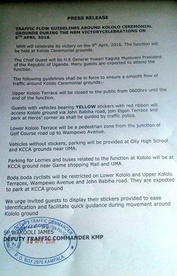 Kampala Kololo 09.04.2016
