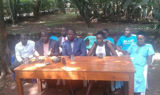 Kampala Opposition Leaders 08.04.2016