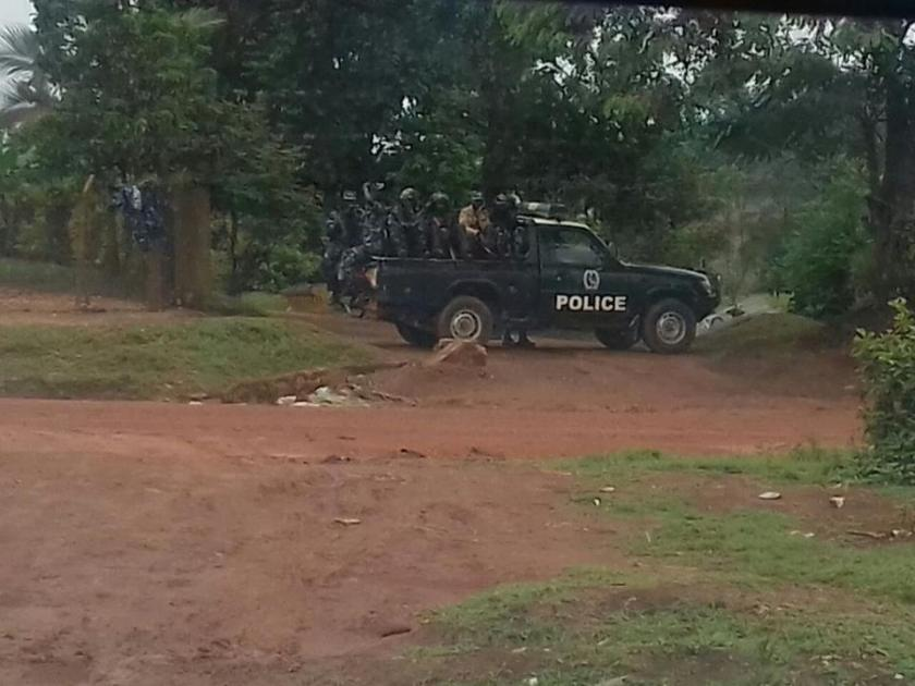 Kasangati 01.04.2016 Police