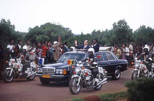 Mittrand Rwanda President