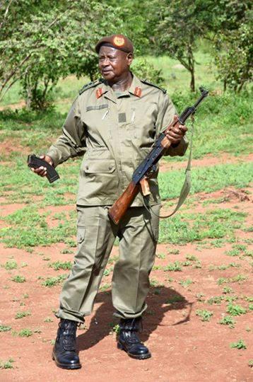 Mueveni Bundibugyo Pre-Campaign 2016 Gun