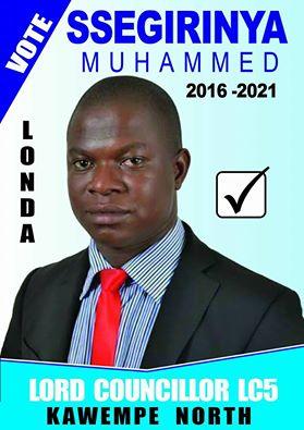 Muhammed Ssegirinya Poster