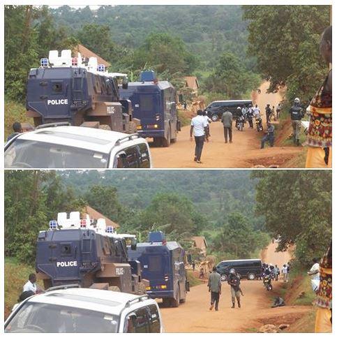 UPF Road to Kasangati 09.04.2016