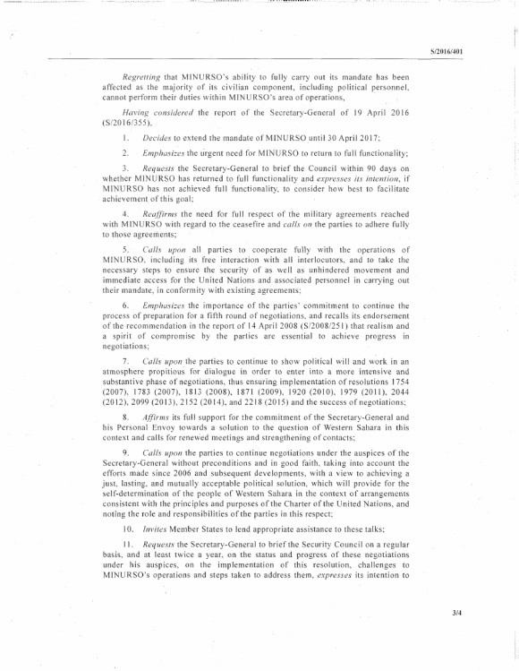 Western Sahara Resolution Draft 28.04.2016 P3