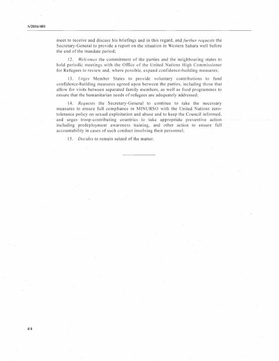 Western Sahara Resolution Draft 28.04.2016 P4