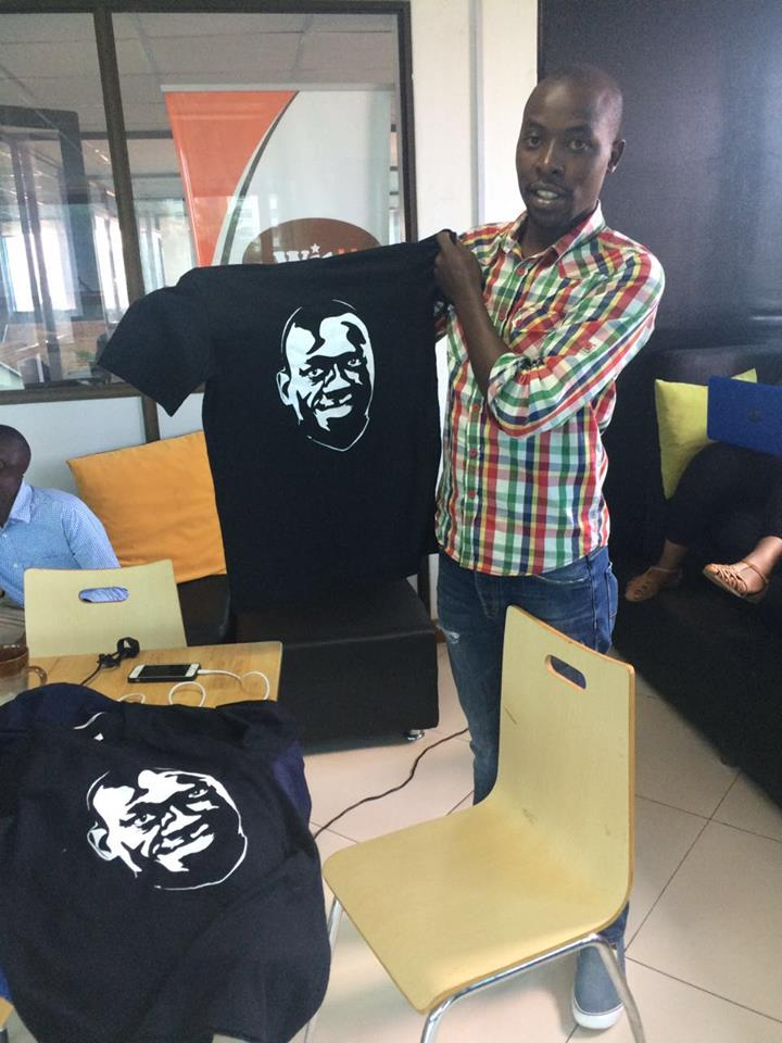26.05.2016 Besigye T-Shirts