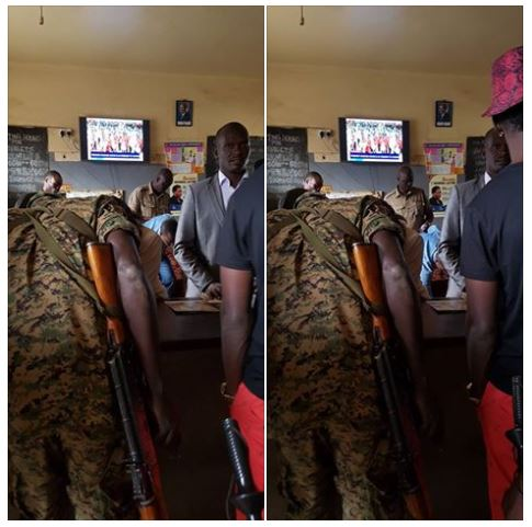 Bobi Wine Studio Raid 12.05.2016