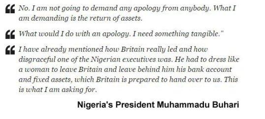 Buhari Quote Corruption 2016
