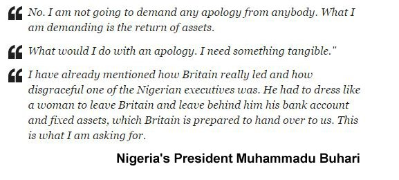 Buhari Quote Corruption 2016