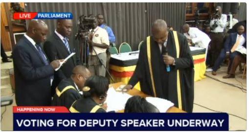 Deputy Speaker Uganda 19.05.2016