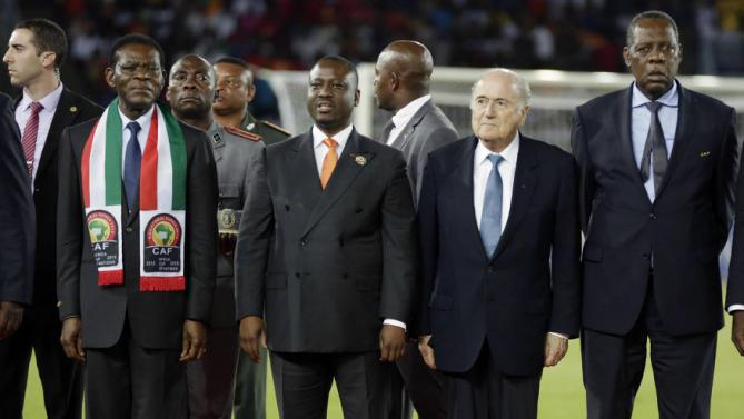 Equatorial Guinea CAF Cup Blatter
