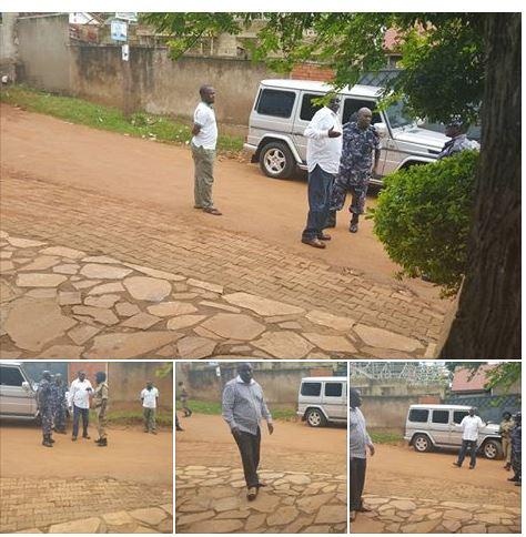 Gen. Sejusa 11.05.2016 Arrest Lukwago
