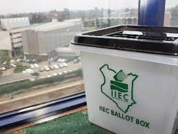 IIEC Ballot Box