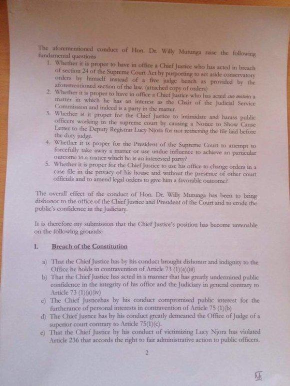 Justice Removed Kenya P2