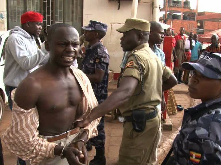 Kampala 05052016 Arrest