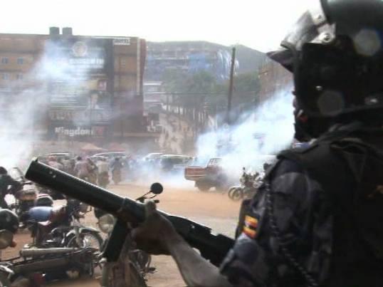 Kampala 05052016 Tear Gas