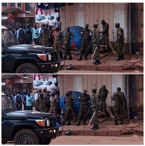 Kampala 11.05.2016 Military