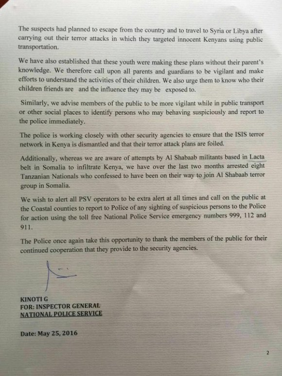 Kenya National Police 25.05.2016 P2