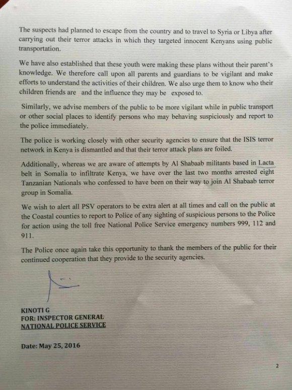 Kenya National Police 25.05.2016 P2
