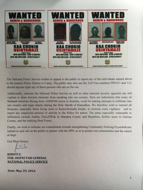 Kenya Police Terror PR 29.05.2016 P2