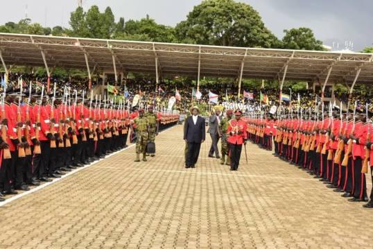 M7 Guards Inaguration 2016