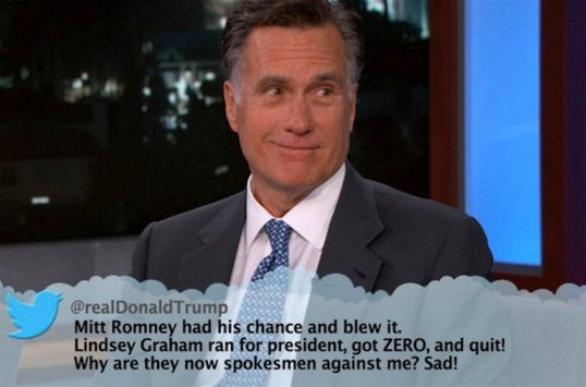 Mitt Romney Angry Tweet