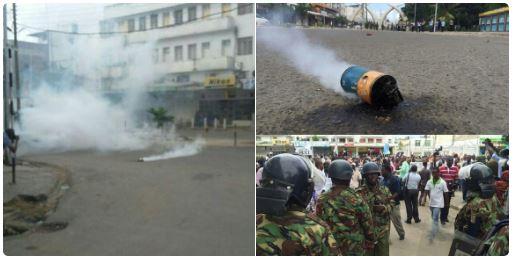 Mombasa 23.05.2016 Demonstration