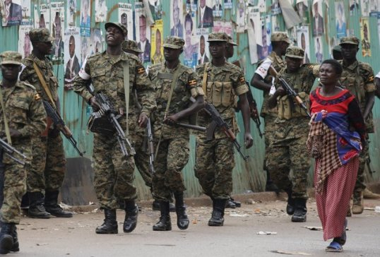 UPDF is ready on the streets on Mukono!