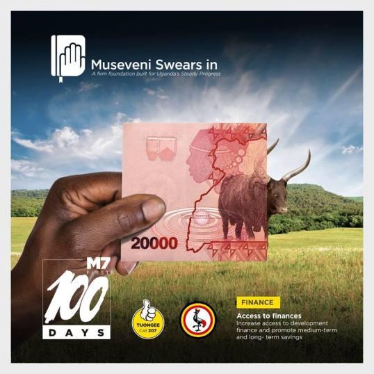 Museveni Swears In