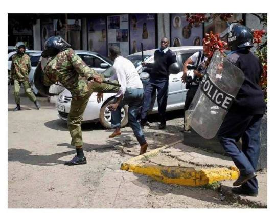 Nairobi 16.05.2016 Police P2