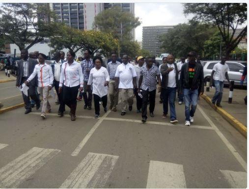 Nairobi 23.05.2016 Demonstrations P1