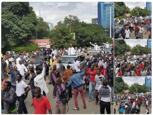 Nairobi 23.05.2016 Demonstrations P4