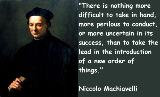 the nature of power and leadership in niccolo machiavellis the prince Although he shared with other humanists a profound pessimism about human nature, machiavelli nevertheless  the leadership of a prince  and power that .