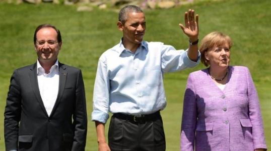 Obama Merkel Hollande_0