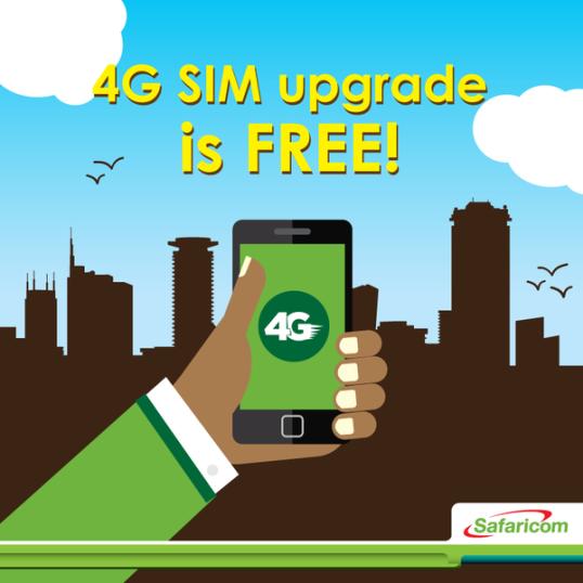 Safaricom 4G Ad