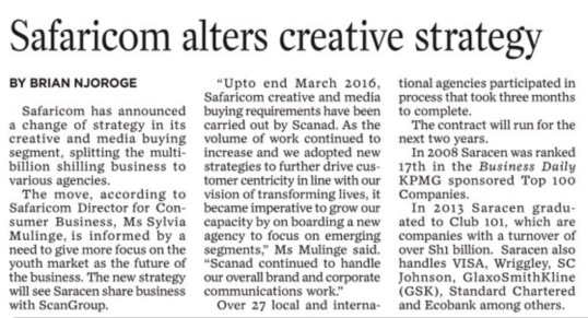 Safaricom Article