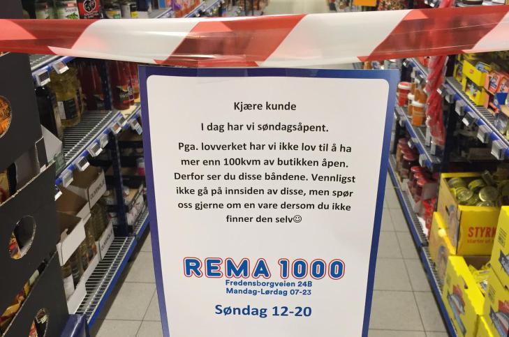 Søndagsåpne Rema
