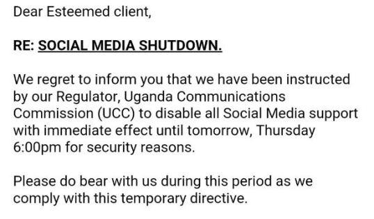 Social Media Shut-Down 2